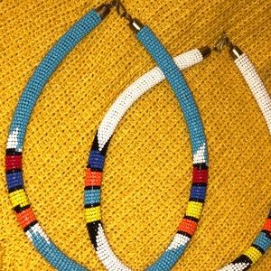 Jewelry - South African custom made Zulu beaded necklace